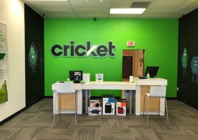 Commercial Buildout Cricket